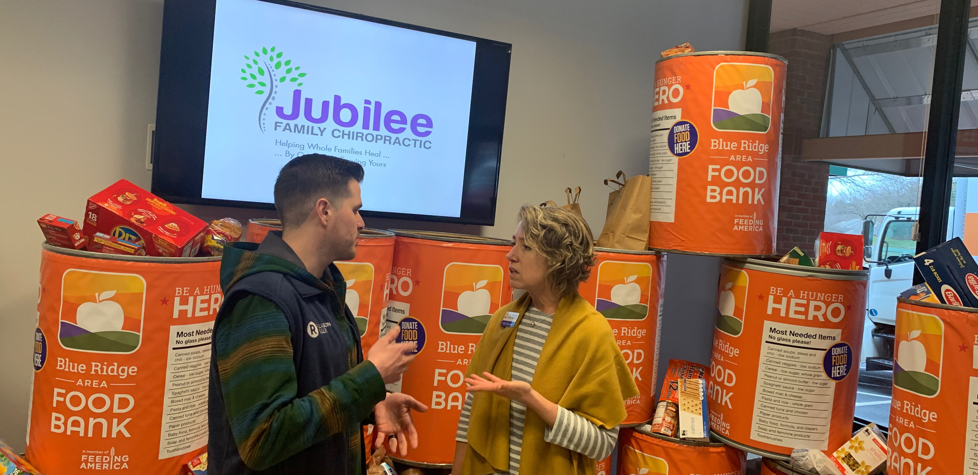 Jubilee Family Chiropractic 2020 Blue Ridge Food Drive. 044