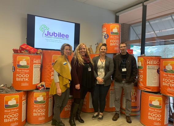 Jubilee Family Chiropractic 2020 Blue Ridge Food Drive. 025