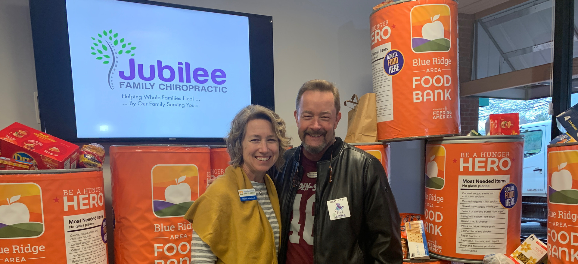 Jubilee Family Chiropractic 2020 Blue Ridge Food Drive. 037