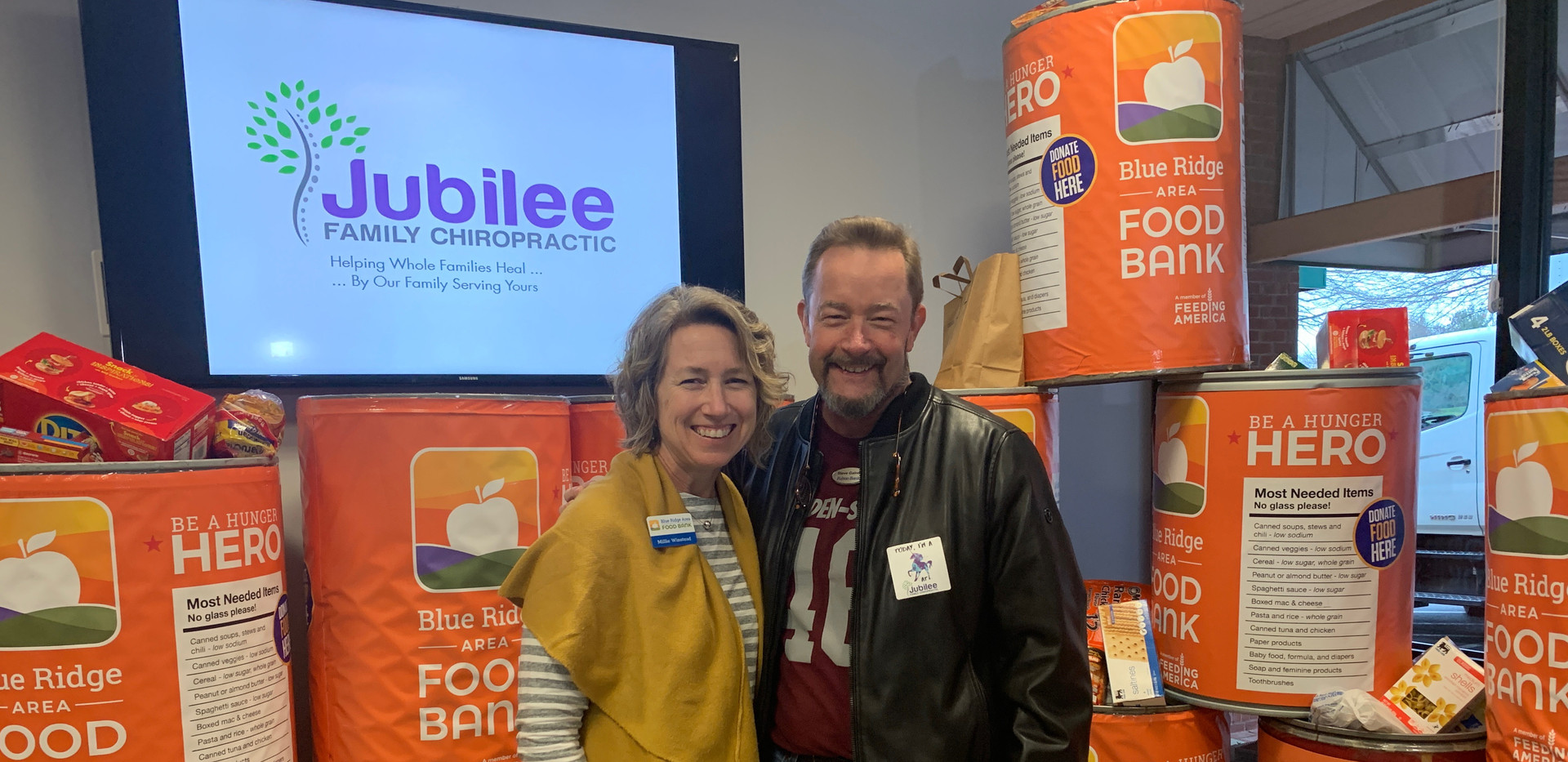 Jubilee Family Chiropractic 2020 Blue Ridge Food Drive. 037