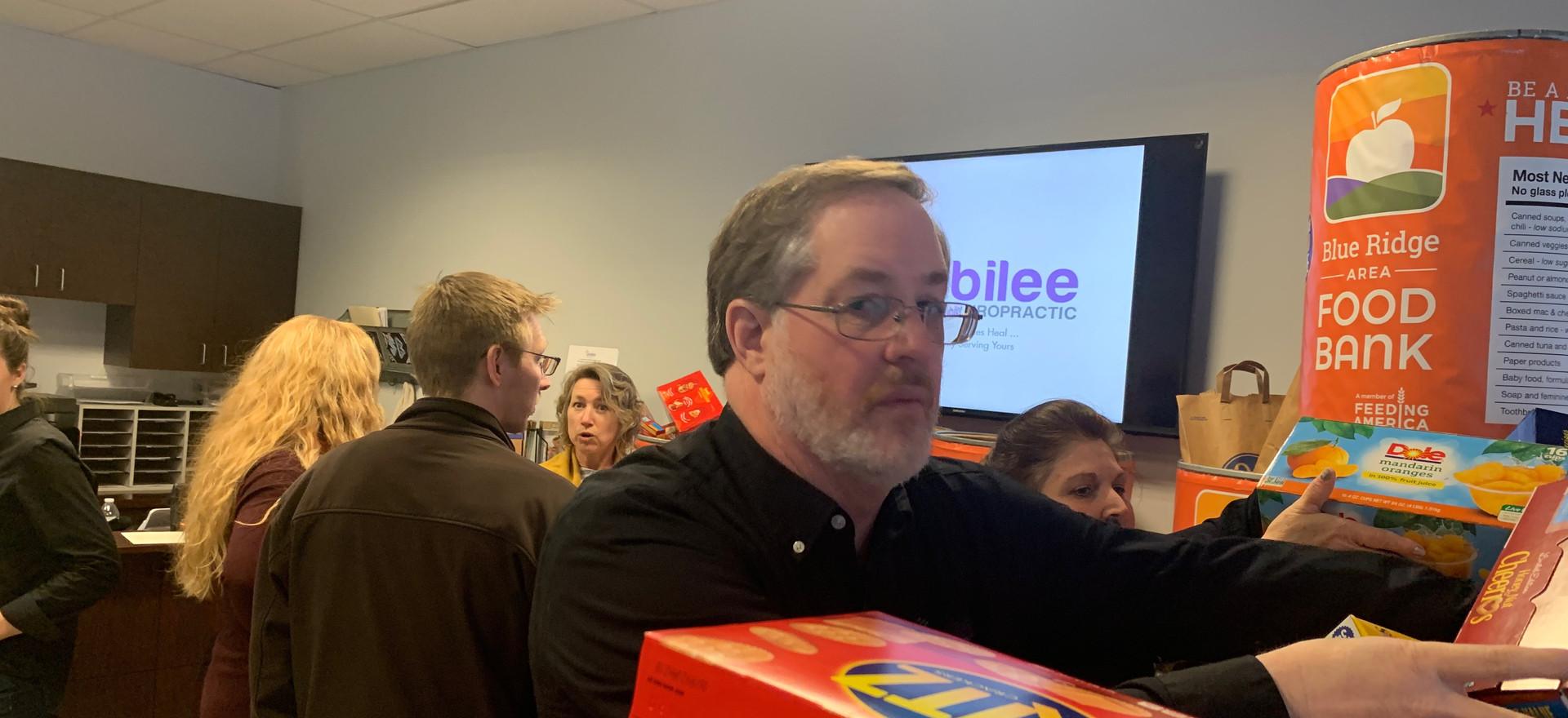 Jubilee Family Chiropractic 2020 Blue Ridge Food Drive. 031