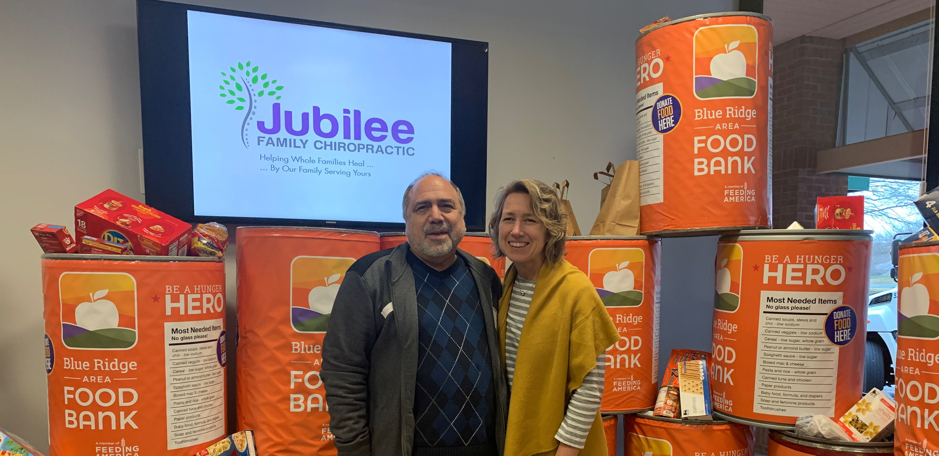 Jubilee Family Chiropractic 2020 Blue Ridge Food Drive. 039