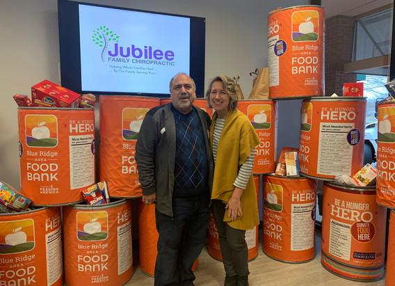 Jubilee Family Chiropractic 2020 Blue Ridge Food Drive. 039