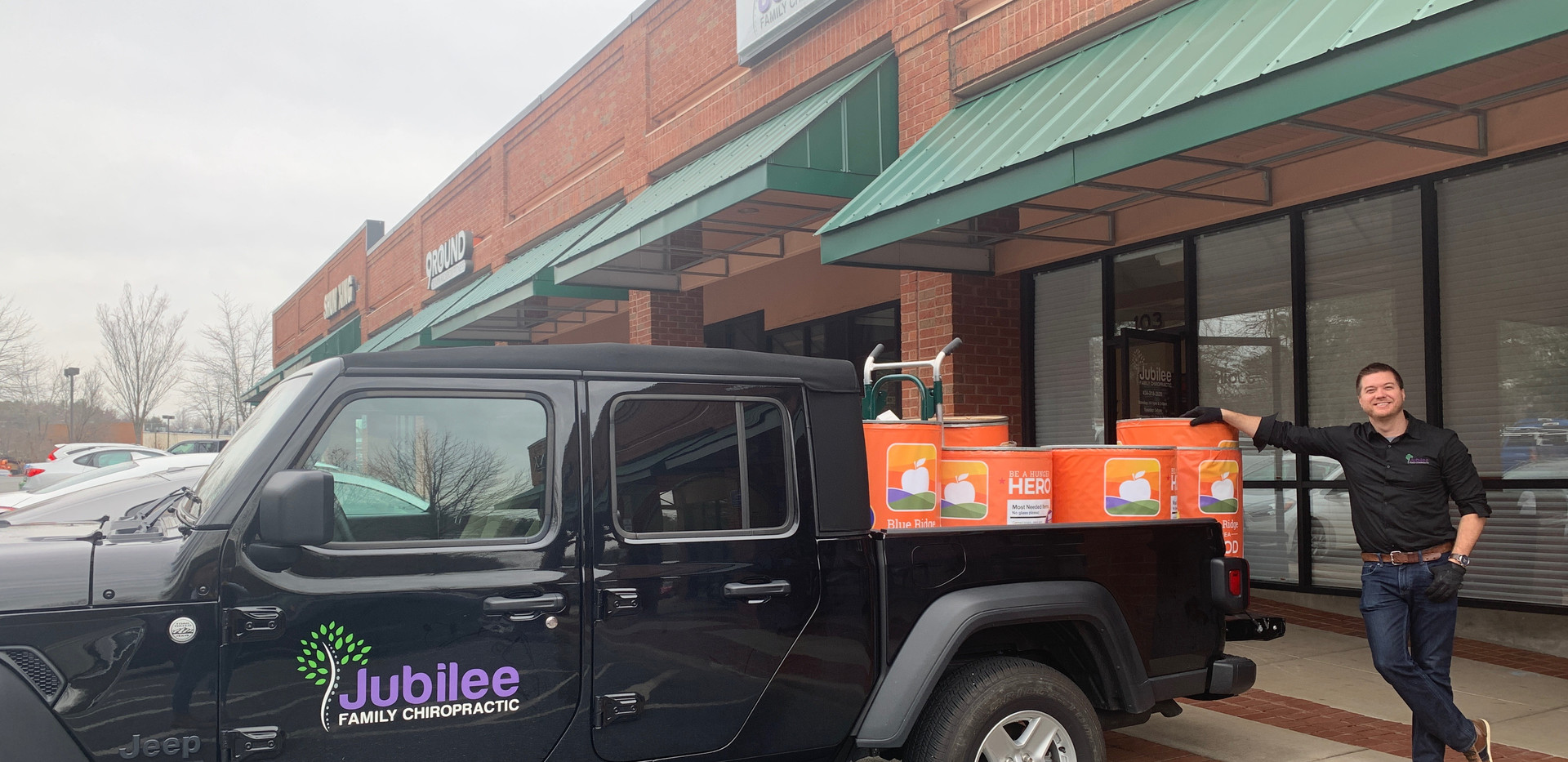 Jubilee Family Chiropractic 2020 Blue Ridge Food Drive. 006
