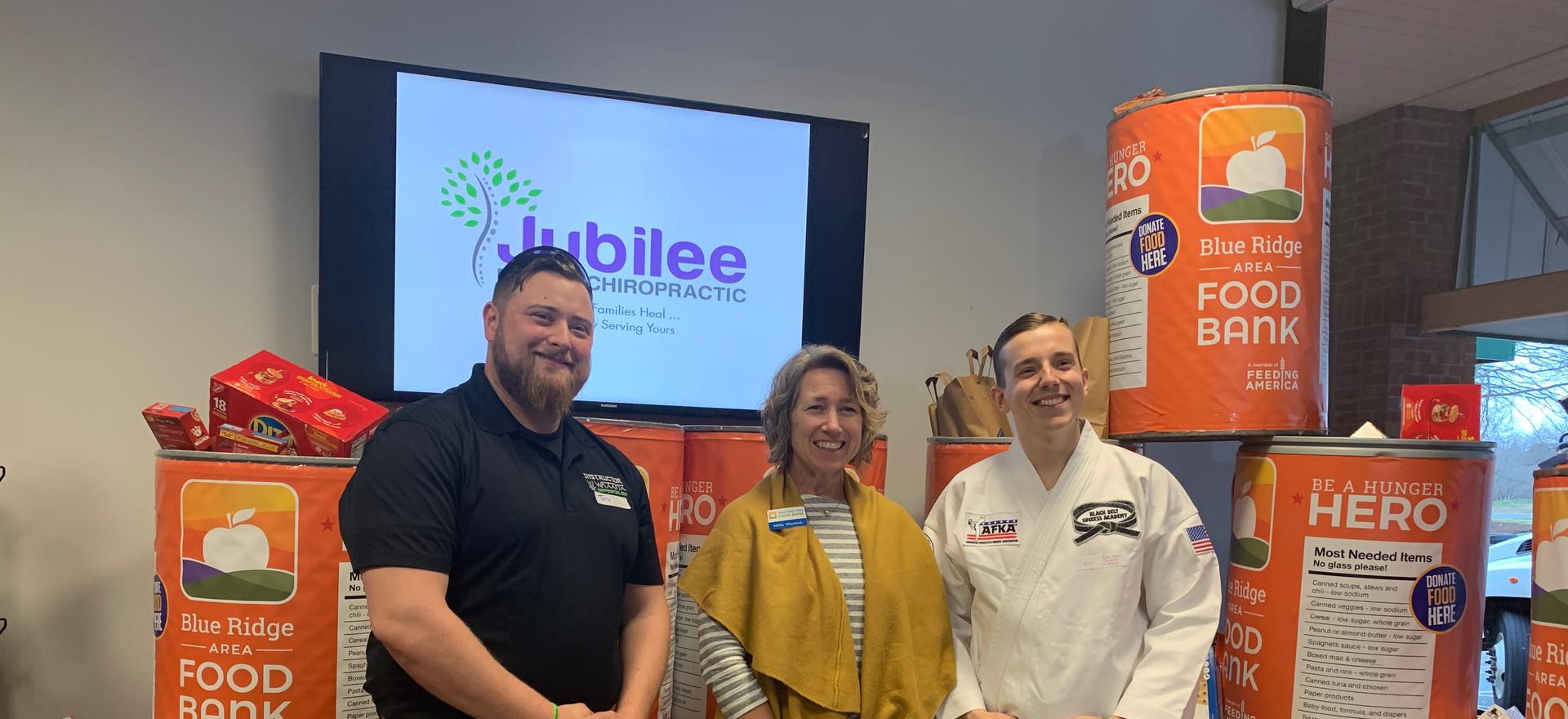 Jubilee Family Chiropractic 2020 Blue Ridge Food Drive. 036
