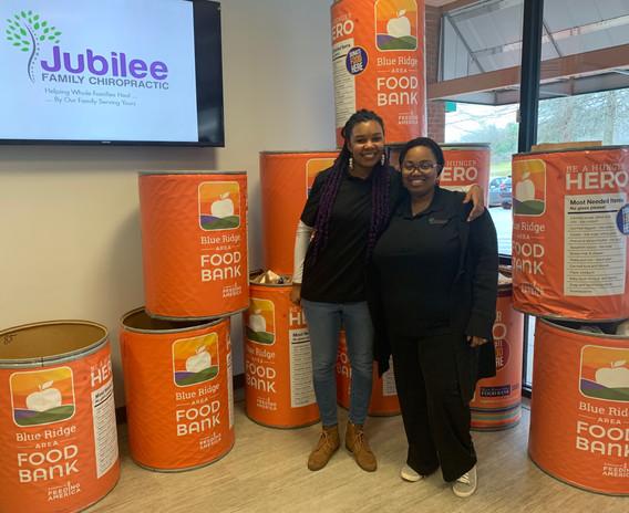 Jubilee Family Chiropractic 2020 Blue Ridge Food Drive. 017