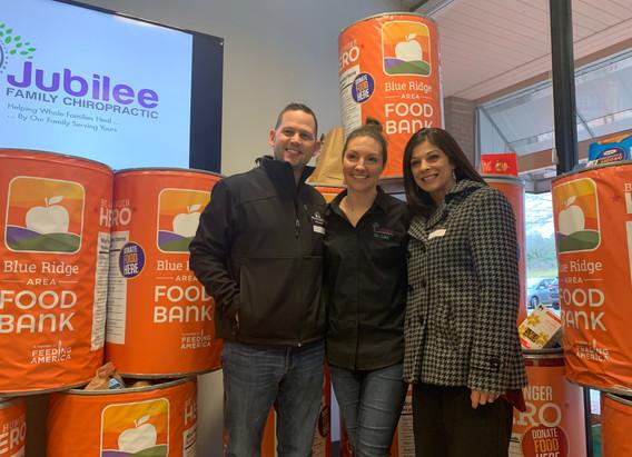Jubilee Family Chiropractic 2020 Blue Ridge Food Drive. 022