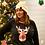 Thumbnail: Reindeer Plaid women's Raglan Tee