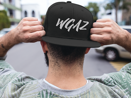 WGAZ Snap back Hat