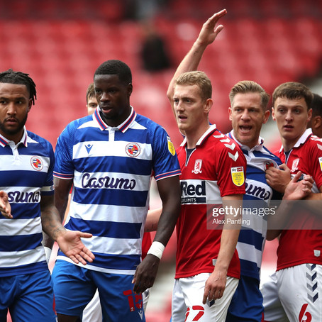 The Build Up: Reading vs Middlesbrough