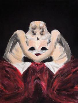 San Girolamo, 2014, oil on canvas, 24 x 18 cm