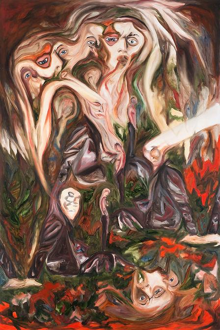 Alessandro Giannì oil on canvas, art, arte, artista, contemporary art, postinternet art, pittua, pittore, Giannì Alessandro