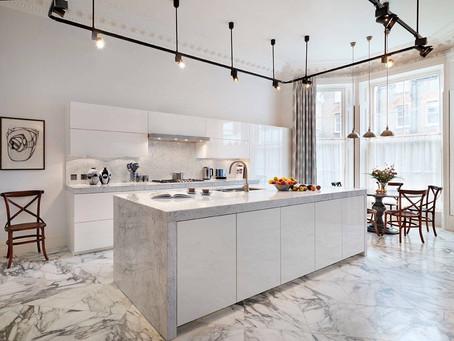 Inspirasi Penggunaan Marmer untuk Dapur Mewah