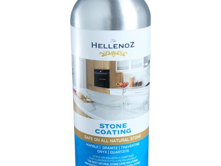 Hellenoz Stone Coating Melindungi Marmer Agar Tetap Mengkilap dan Tidak Mudah Rusak
