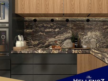 Aplikasi Top Table Granit untuk Dapur Mewah