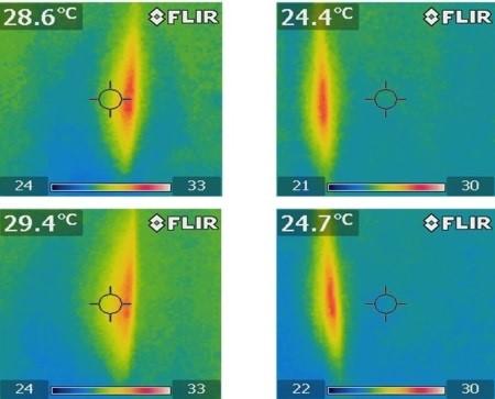 热敏相机探测到白蚁集中区