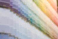 Las muestras de pintura-Hardware-tienda