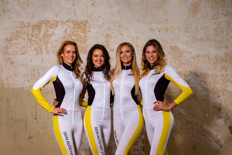 Michelle, Shanna, Marie, Lucy für WIMA Models Grid Girls