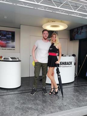 Lucy für MotoGP Cashback