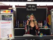 Michelle für Red Bull