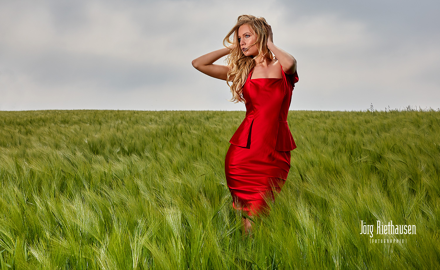 Basedow rotes Kleid