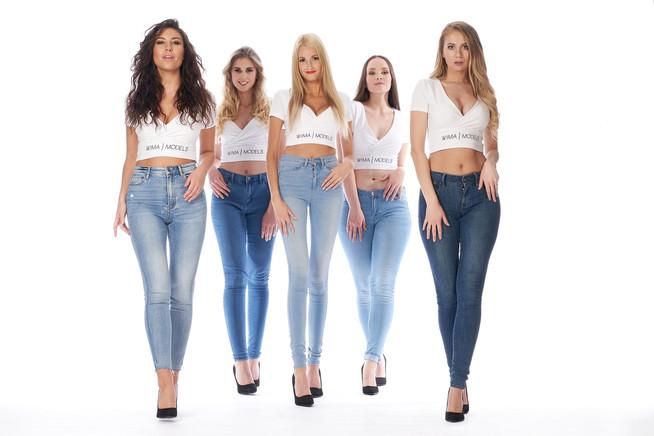 Marina, Lucy, Lena, Bibiana, Marie-Luise für WIMA Models