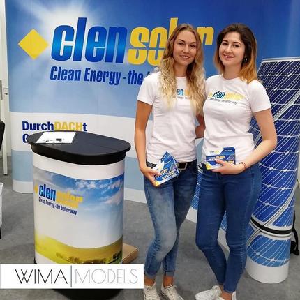 Maria und Valeriya für Clen Solar