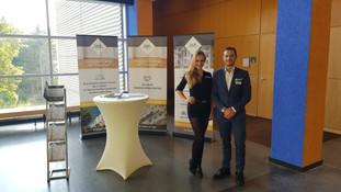 Chantal und Patrick für Laub Immobilien