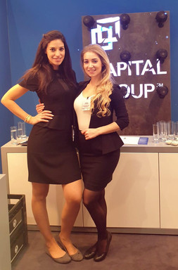 Christine und Sophia für Capital Group