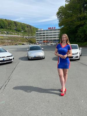 Theresa für Sportwagenclub