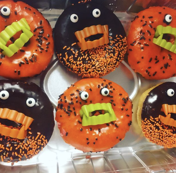 Zombie Prom donuts