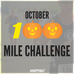 The 100 Mile October Challenge