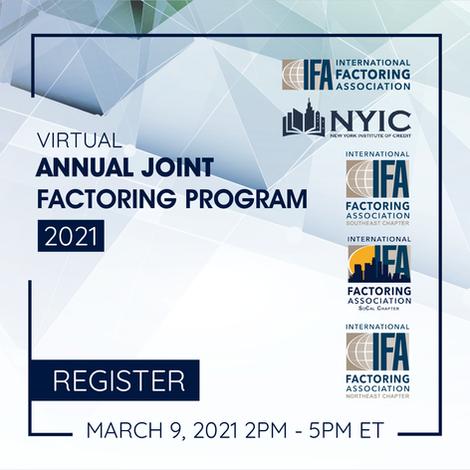 Annual Joint Factoring Program 2021