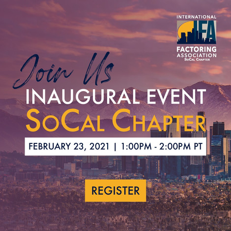 Inaugural Event of the SoCal Chapter of IFA