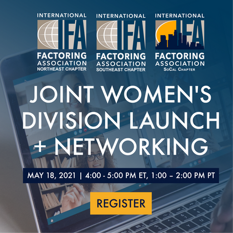 Northeast, Southeast + SoCal Chapters of IFA   Joint Women's Division Launch + Networking