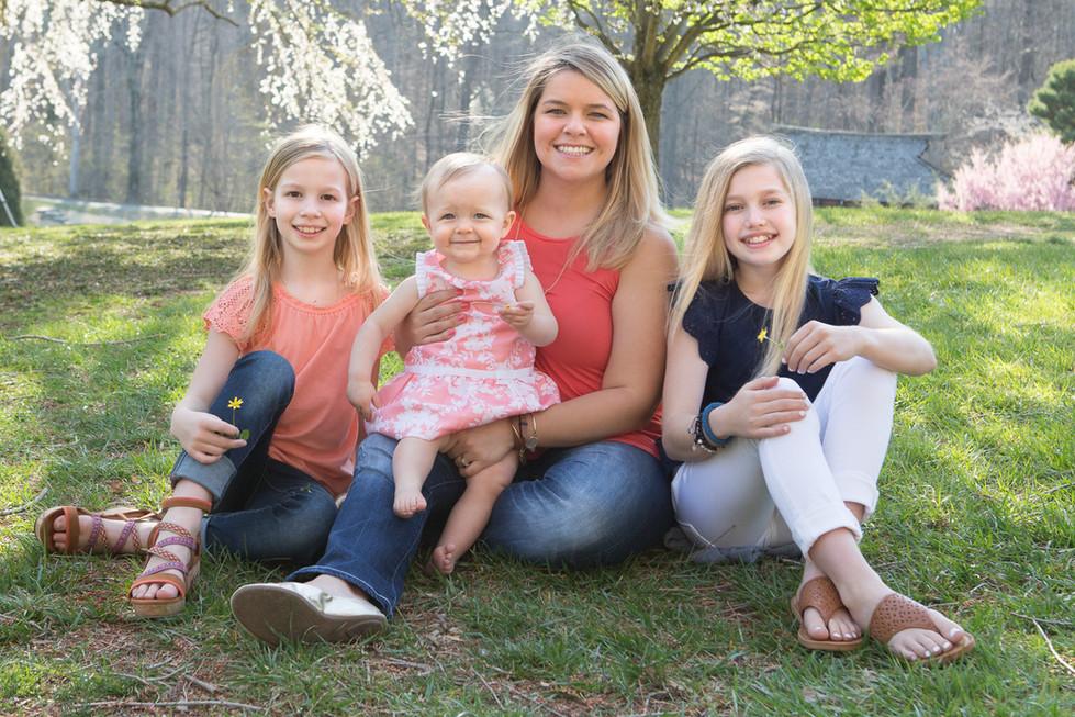 Cherry Blossom Family Photographer