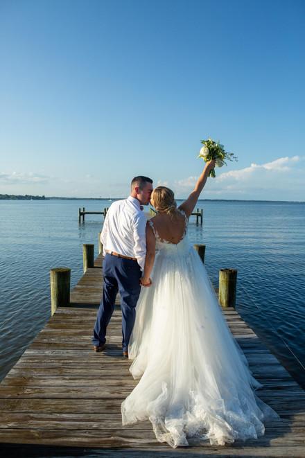 Wedding on the water near washington DC