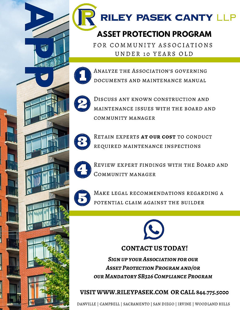 ASSET PROTECTION PROGRAM FOR COMMUNITY A