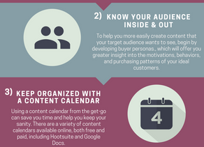 [Infographic] How to Create Your Content Marketing Strategy in 5 Steps