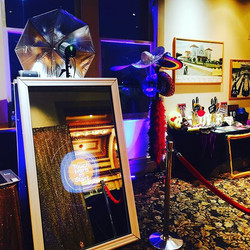 Setup tonight! #mirrormagicphotobooth #saweddings #quinceañera #photobooth #photooftheday