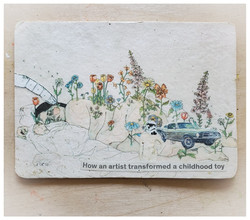 How the Artist Transformed a Childhood Toy.  2017