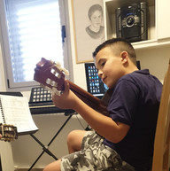 שיעור גיטרה
