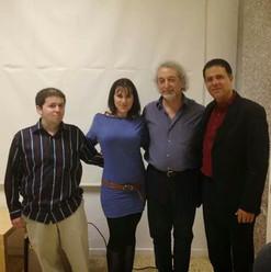 תמונה עם הגיטריסט הישראלי מר יורם זרבי ו