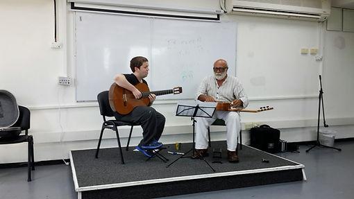 כיתת אומן עם הפרופסור יוסי ירושלמי