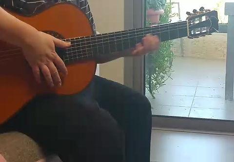 סליחות יהודית רביץ, מורה גיטרה דימה קוגן