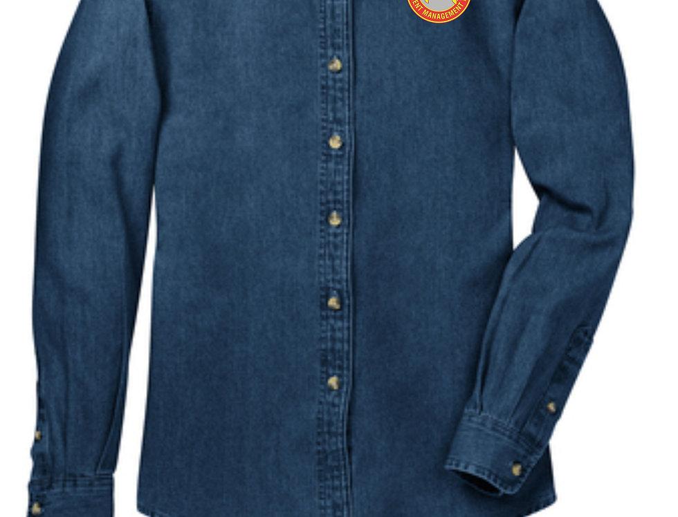 4SW022SP10RDT     Long Sleeve Value Denim Shirt