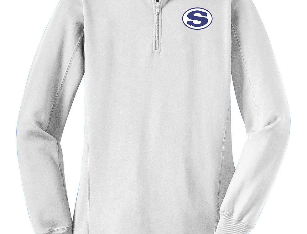 4SW021L253SCA     Sport-Tek® Ladies 1/4-Zip Sweatshirt