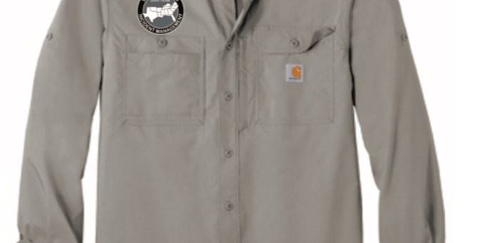 4SW028CT102418GRT      Ridgefield Solid Long Sleeve Shirt