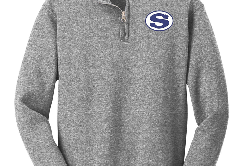 4SW06995YSCA     Youth NuBlend® 1/4-Zip Cadet Collar Sweatshirt