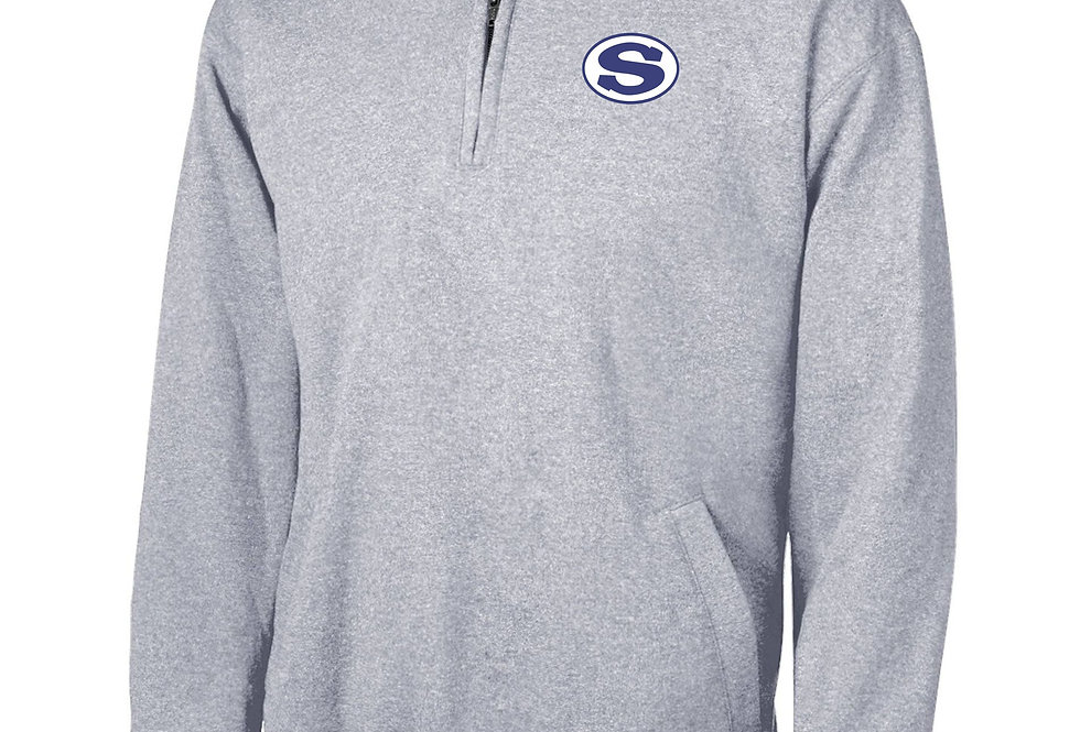 4SW06400SCA     Champion Adult Double Dry Eco® Quarter-Zip Pullover